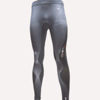 Compression Long Tights – Black Blue