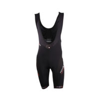 Compression Cycling Bib Shorts – Full Black