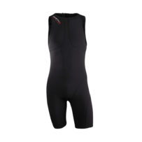 Compression Triathlon Suit Men – Full Black