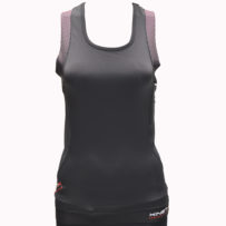 Compression Sleeveless Top Multisport – Black Pink