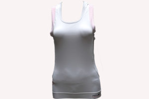W-Sleveless-White-Pink-Front