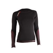 Compression Long Sleeves Top Multisport – Black Pink