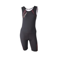 Compression Triathlon Suit Women – Black Pink